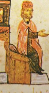 Simeon I na tron Skil.jpg